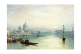 Entrance to the Grand Canal, Venice Giclee Print by Myles Birket Foster