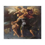 The Sacrifice of Isaac Giclee Print by Paolo Di Matteis