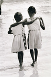 Coney Island Sisters, C.1953-64 Photographic Print by Nat Herz