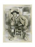 Breton Peasant Giclee Print by Mortimer Ludington Menpes
