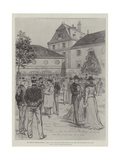 The Dreyfus Trial at Rennes Giclee Print by Melton Prior
