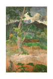 Landscape with a Horse, 1899 Giclee Print by Paul Gauguin