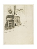 The Mirror, 1891 Giclee Print by Mary Cassatt