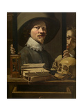 Vanity Portrait of the Painter Giclee Print by Peter van Lint