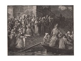 Retreat of the Royalists from Toulon Ad 1793 Giclee Print by Paul Hardy