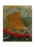 The Yellow Sail, C.1905 Giclee Print by Odilon Redon
