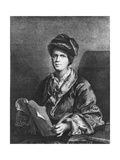 Antoine Houdart De La Motte Giclee Print by Nicolas Etienne Edelinck