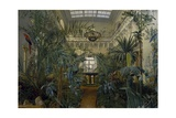 Winter Garden in Winter Palace at St Petersburg, 1840 Giclee Print by Mikhail Ivanovich Antonov