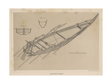 Japanese Boat, 1855 Giclee Print by Miner Kilbourne Kellogg