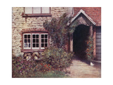 A Surrey Porch Giclee Print by Mortimer Ludington Menpes
