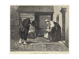 A Lesson in Charity Giclee Print by Philip Hermogenes Calderon