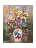 Vase with Japanese Warrior, 1905-1908 Giclee Print by Odilon Redon