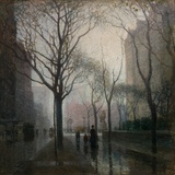 The Plaza after the Rain, 1908 Giclee Print by Paul Cornoyer