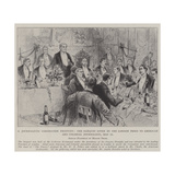 A Journalistic Coronation Festivity Giclee Print by Melton Prior