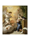 The Annunciation, 1712 Giclee Print by Paolo Di Matteis