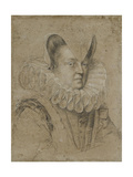Portrait of Margherita Giclee Print by Ottavio Mario Leoni