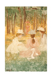 The Picnic, C.1895-97 Giclee Print by Maurice Brazil Prendergast
