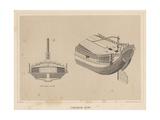 Japanese Junk, 1855 Giclee Print by Miner Kilbourne Kellogg