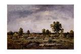 Landscape, 19th Century Giclee Print by Narcisse Virgile Diaz de la Pena