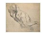 Study of a Nude Male Torso Giclee Print by Peter Paul Rubens