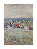 Revere Beach, 1896 Giclee Print by Maurice Brazil Prendergast