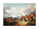 Battle of Alexandria, 21 March 1801, 1802 Giclee Print by Philip James De Loutherbourg