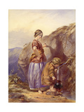 The Mountain Spring Giclee Print by Paul Falconer Poole