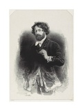 Self Portrait, 1842 Giclee Print by Paul Gavarni