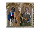 St Dorothy and St Peter Giclee Print by Nardo Di Cione