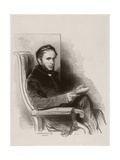 Raymond La Garrigue, 1842 Giclee Print by Paul Gavarni