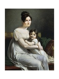 Woman and Child Giclee Print by Pelagio Palagi