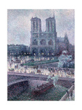 Notre Dame, C.1900 Giclee Print by Maximilien Luce