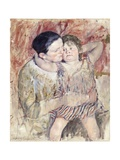 Woman and Child (Mathilde Holding a Child), C.1900 Giclee Print by Mary Cassatt