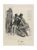 Mais Puisque Je Vous Dis Que J'Ai Un Mari. . ., 1838 Giclee Print by Paul Gavarni