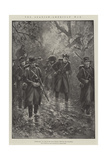 The Spanish-American War, Uncle Sam in Cuba in the Rainy Season, Through the Chaparral Giclee Print by Paul Frenzeny
