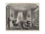 "Lord Macaulay's Library Giclee Print by Matthew ""matt"" Somerville Morgan"