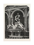 The Monument of Lorenzo De Medici, in the Italian Court at the Crystal Palace 1854 Giclee Print by  Michelangelo Buonarroti