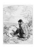 L'Affût, Plate 5 from Les Toquades, 1858 Giclee Print by Paul Gavarni