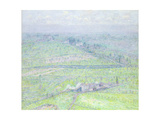 Tuscan Landscape Giclee Print by Paul Baum