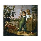Hulsenbeck Children, 1805 Giclee Print by Philipp Otto Runge