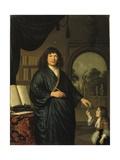 Portrait of a Gentleman Giclee Print by Pieter van Slingelandt