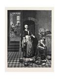 The Idle Servant in the National Gallery Giclee Print by Nicolaes Maes