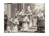 The Seven Sacraments: Ordination Giclee Print by Pietro Antonio Novelli