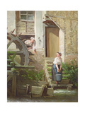 The Miller and His Sweetheart Giclee Print by Prudent Louis Leray