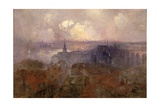 Newcastle Upon Tyne from the East, 1898 Giclee Print by Niels Moller Lund