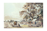 The Encampment in Hyde Park, 1780 Giclee Print by Paul Sandby