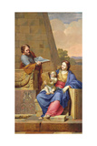 Rest on the Flight into Egypt, 1658 Giclee Print by Pierre Letellier