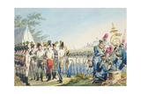 The New Imperial Royal Austrian Light Infantry after the Napoleonic Wars, C.1820 Giclee Print by Phillip Von Stubenrauch