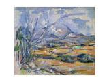 Montagne Sainte-Victoire, 1890-95 Giclee Print by Paul Cézanne