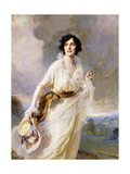 Portrait of Lady Crosfield, 1923 Giclee Print by Philip Alexius De Laszlo
